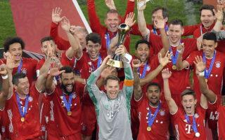 El sextete del Bayern de Múnich