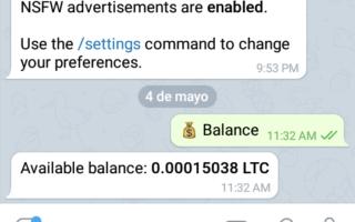 5 bots de Telegram para Ganar Criptomonedas